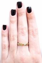 Chibi Jewels Small Hieroglyphics Ring in Brass