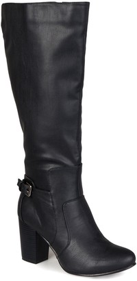 Journee Collection Carver Tall Boot - Wide Calf