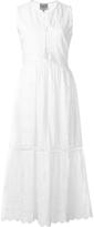 Sea Eyelet Sleeveless Dress