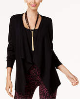 Thalia Sodi Lattice-Back Open-Front Cardigan, Created for Macy's