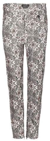 Isabel Marant Mayeul printed cotton trousers