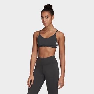 adidas Women's All Me 3-Stripes Light-Support Sports Bra