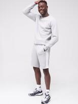 adidas 3S Shorts Medium Grey Heather