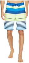 Vineyard Vines Neon Stripe Boardshorts Men's Swimwear