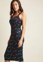 Collectif Rockabilly Beauty Sheath Dress in XS