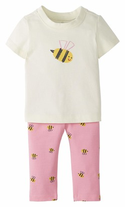 Moon and Back by Hanna Andersson Girls' Baby 2 Piece Legging Set