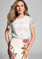 Kaleidoscope Floral Lace Top