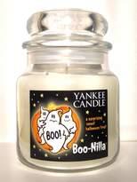 Yankee Candle Boo-Nilla Boonilla Vanilla Marshmallow Scent Halloween Candle