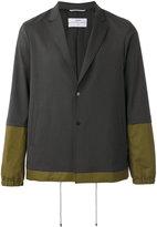 Oamc two button blazer - men - Polyester/Spandex/Elastane/Cupro/Wool - L