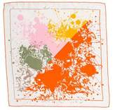 Hermes Cheval Surprise Silk Pocket Square w/ Tags