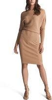 Thumbnail for your product : Reiss Lara Mix Ribbed Long Sleeve Sweater Dress