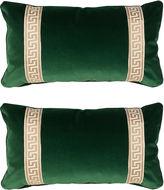 Miles Talbott Collection S/2 Robertson 12x23 Pillows, Emerald