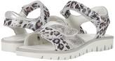 Primigi 53866 (Toddler/Little Kid/Big Kid) (Silver/Leopard) Girl's Shoes