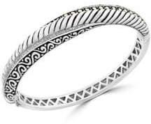 Effy Super Buy 18K Gold & Sterling Silver Diamond Bangle Bracelet