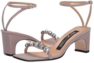 Sergio Rossi SR1 Sandal (Var Cipria) Women's Shoes