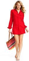 Lauren Ralph Lauren Semi-Sheer Tunic Cover Up