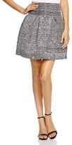 Aqua Sequin Knit Bandage Skirt