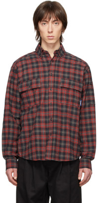 Rassvet Red Flannel Shirt