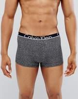 Calvin Klein Trunks Id Cotton In Print