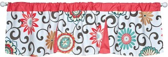 Trend Lab Waverly Baby Pom Pom Floral Window Valance