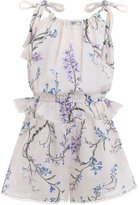 Zimmermann Paradiso Voile Playsuit