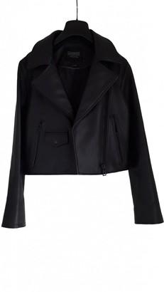 Eleven Paris Black Leather Leather Jacket for Women