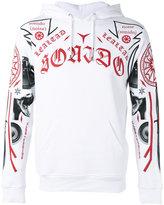Marcelo Burlon County of Milan printed hoodie - men - Cotton - XS