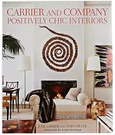 Abrams Books CARRIER & COMPANY: POSITIVELY CHIC INTERIORS