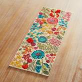 Pier 1 Imports Flourishing Florals Beaded Table Runner