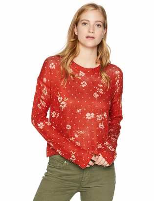 Show Me Your Mumu Women's Cropped Varsity Sweater