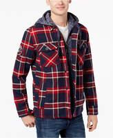 Superdry Men's Everest Storm Plaid Shirt Jacket