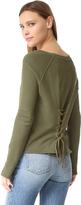 Pam & Gela Bell Sleeve Sweatshirt
