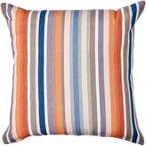 One Duck Two Caracus Stripe Cushion, Persimmon