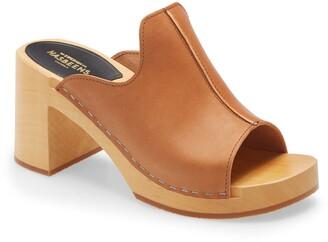 Swedish Hasbeens Lotten Platform Slide Sandal