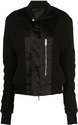 Unravel Project Zip-Up Bomber Jacket