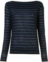 Vince cashmere striped jumper - women - Cashmere - S
