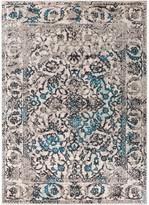 "Blue Area Well Woven Sydney Vintage Rug, 3'3""x4'7"""