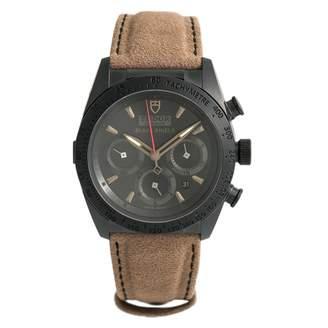 Tudor Fastrider Black Steel Watches