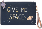 Accessorize Give Me Space Large Ziptop Purse