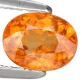 GemsRoyal 1.08 Ct. Charming Madarin Color Mandarin Garnet Loose Gemstone With Glc Certify