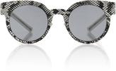 Mykita Python Print Sunglasses