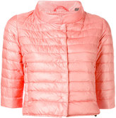 Duvetica cropped puffer jacket - women - Feather Down/Polyamide - 40
