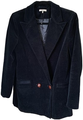 Ganni Navy Cotton Jackets