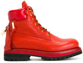 Buscemi Site boots - men - Calf Leather/rubber/Leather - 7