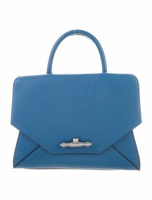 Givenchy Small Obsedia Leather Tote Blue