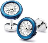 Charles Tyrwhitt Blue Wheel Cufflink