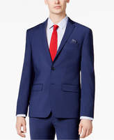 Bar III Men's Extra-Slim Fit Stretch Wrinkle-Resistant Blue Suit Jacket, Created for Macy's