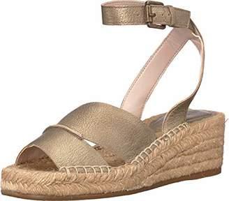 Nine West Women's EDWISHA Leather Wedge Sandal