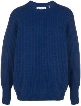 Barbour ribbed knit jumper