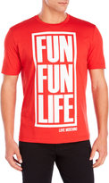 Love Moschino Fun Life Tee